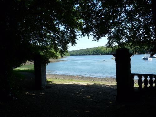 L'Odet,depuis le sentier du Perennou