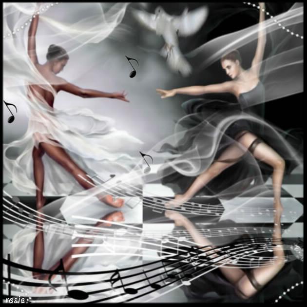 miroir de danseuses