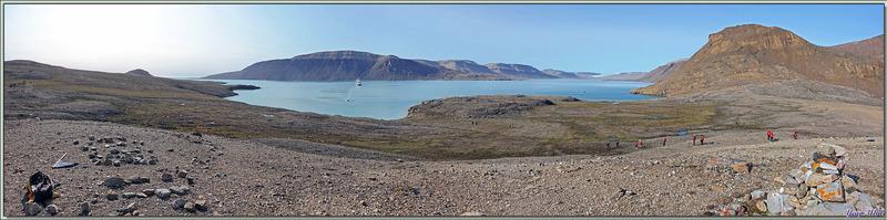 Vues panoramiques sur Dundas Harbour - Nunavut - Canada