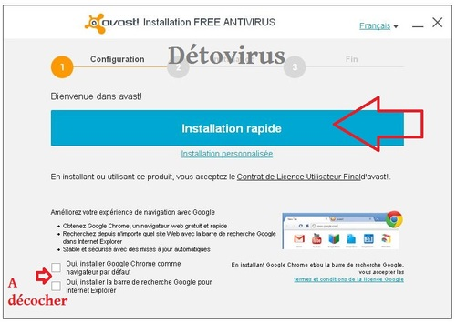 Avast version 9 bêta (toutes versions)