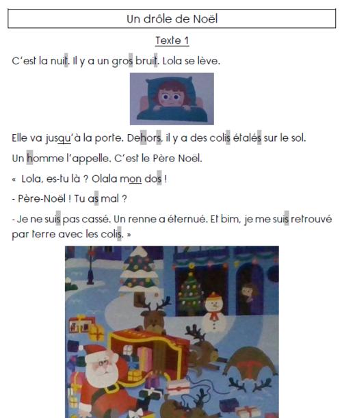 Lecture CP Noël