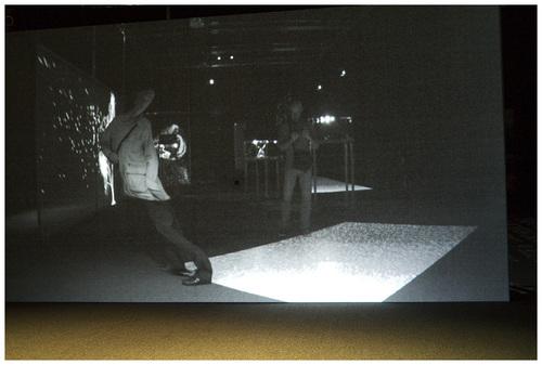 Paris. Exposition XYZT les paysages abstraits.