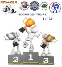 PREMIER INTER-CLUB 2013 à COX