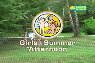 Naturist Freedom - Girls Summer Afternoon. DVD.
