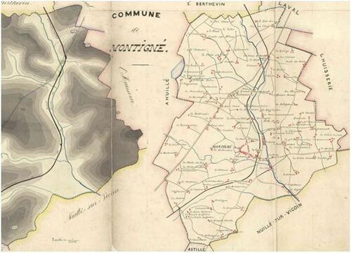 Chouannerie, Montigné-le-Brillant....