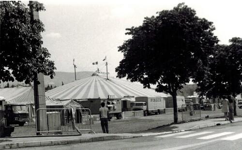 le cirque Pinder-Jean Richard années 1974-75