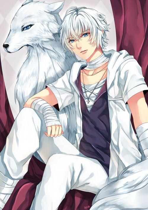 Résultats de recherche d'images pour «manga garçon loup»