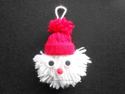Pompon Père Noël (1)