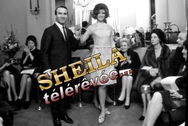 Février 165 : Sheila défile pour Michel Mastey. INEDIT !