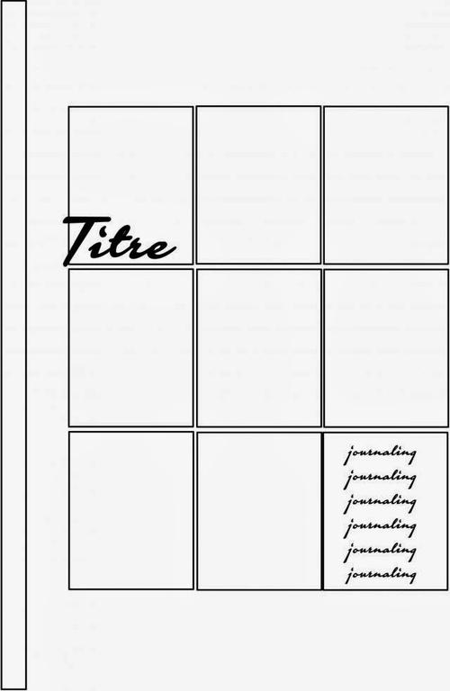 Mylène - Challenge Scrapbooking A4