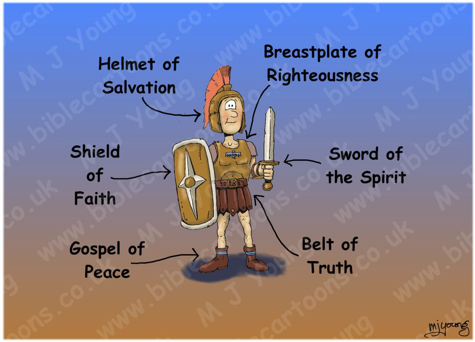 Ephesians 06 - Armour of God (Roman soldier) 980x706px col.jpg