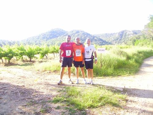 Trail 13.5km de Saint Victor la Coste (gard)