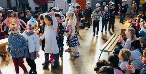 Carnaval des élèves de maternelles