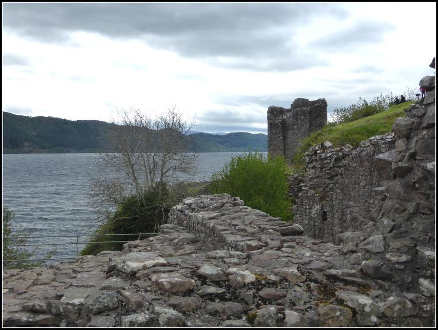 Voyage en Ecosse N° 14 : Le château D'Urquhart sur les rives du Loch Ness