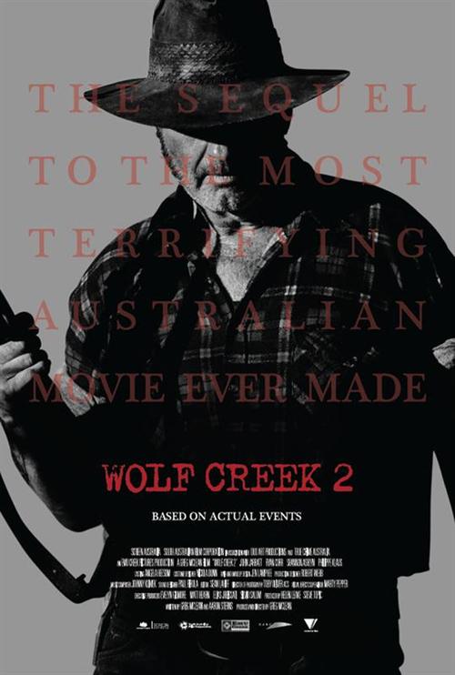 "Bonsoir a l'honneur : "" Wolf Creek 2 """