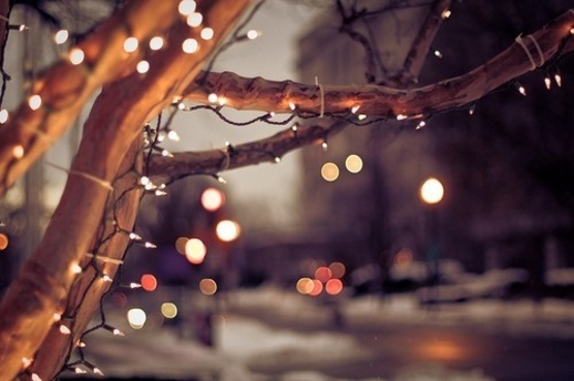 christmas, christmas lights, city, light, lights, snow