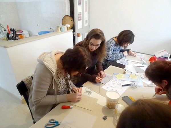 Les Crafternoons, un atelier de loisirs créatifs à Recey sur Ource...
