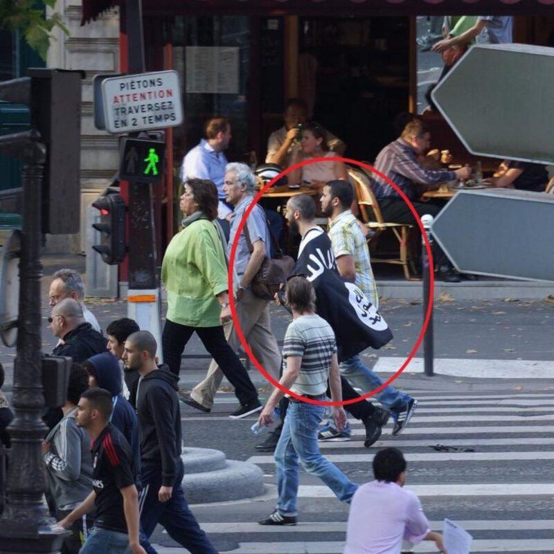 Dans les rue de Paris en 2014