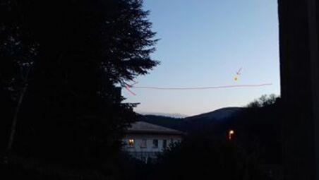 17 janvier 2017 - Lueur dans l'Hérault