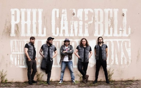 PHIL CAMPBELL AND THE BASTARD SONS - Un extrait du premier album dévoilé