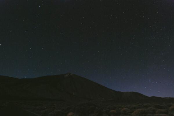 GO PO et cassio sur le Teide