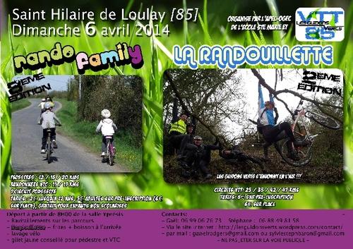La Randouillette 2014 à Saint Hilaire de Looulay