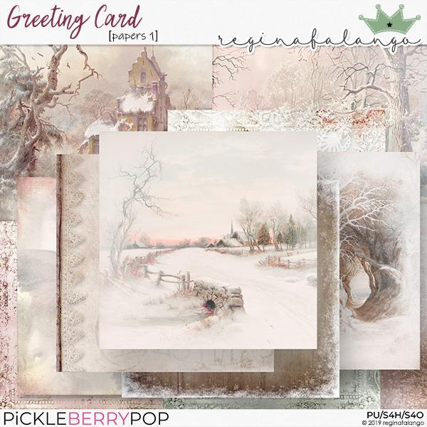 GREETING CARD Rf-gcp11