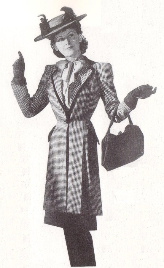 1942 - Maggy Rouff ensemble by G.Saad in lArt