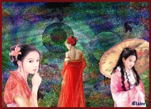 créa du jour Geisha