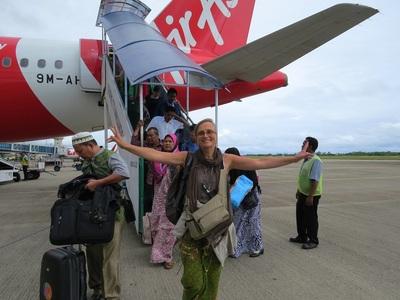 08 Juillet 2014 - Arrivée mouillée sur Sumatra, Padang !