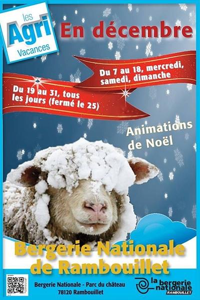 Rambouillet : Noël à la Bergerie Nationale