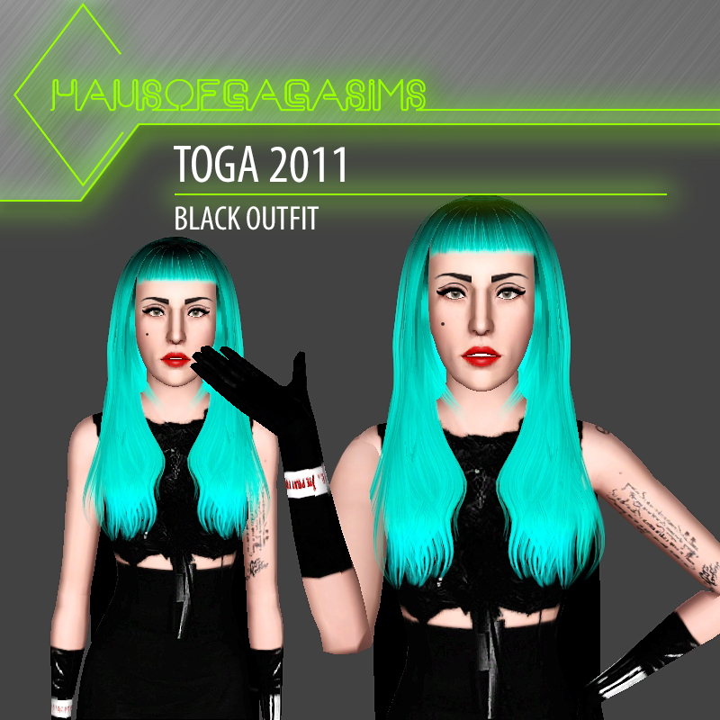 TOGA 2011 BLACK OUTFIT