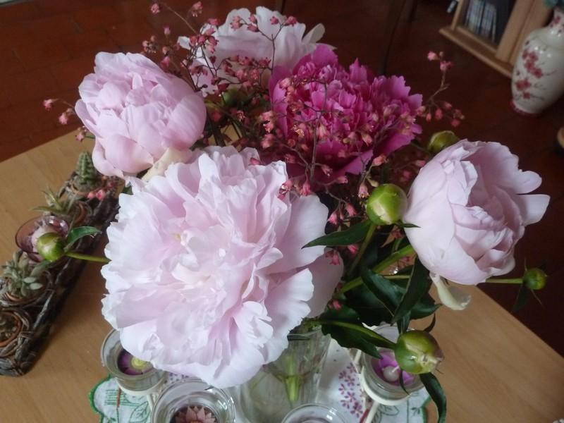 """Bouquets """"pimpants"""" ..."""