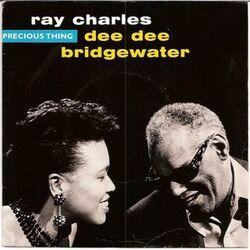 Les SINGLéS # 108: Ray Charles et Dee Dee Bridgewater - Precious Thing (1989)
