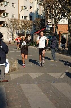 "Jean Perez, 10km de Malakoff, 34'55"" Samedi 04 février 2012"