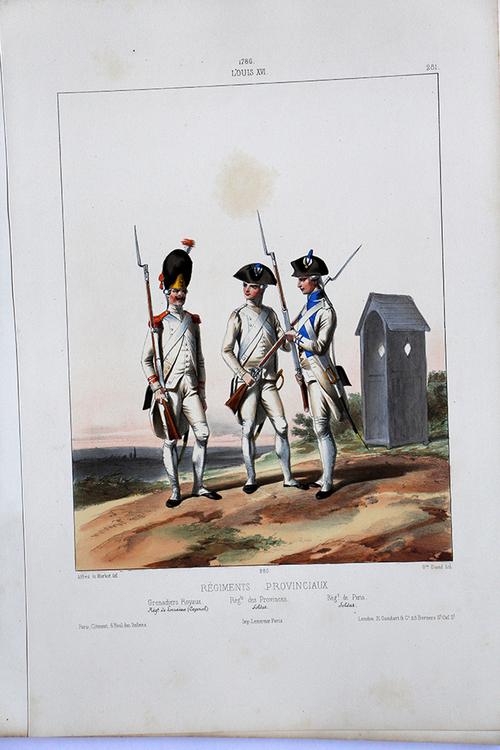Les milices provinciales