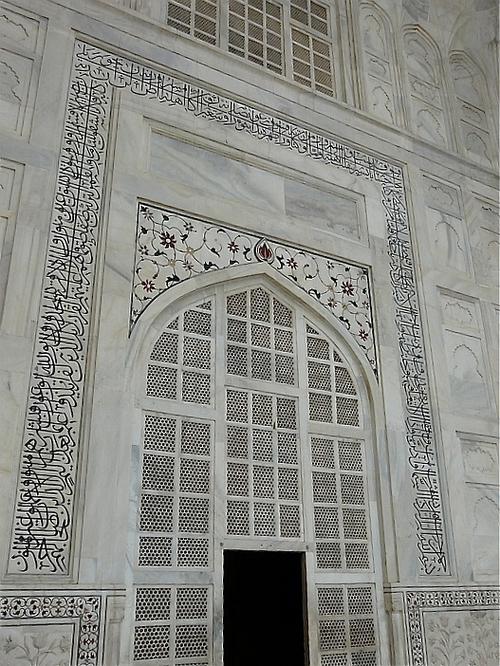 quelques détails de la façade