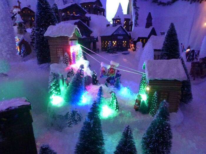 Un marché de Noël en Suisse : la forêt magique