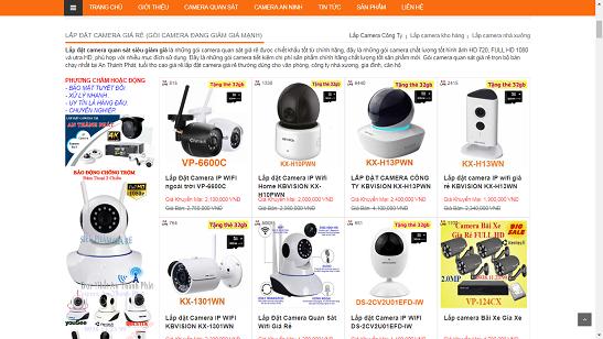 Lắp camera wifi Quận Phú Nhuận chất lượng, giá rẻ