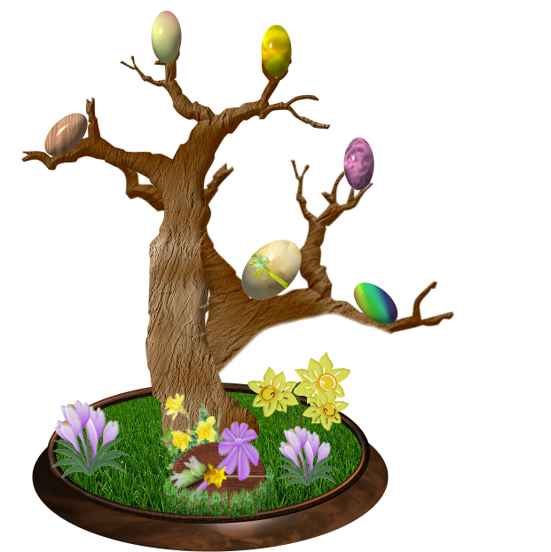 ARBRE DE PAQUES / TREE OF EASTER