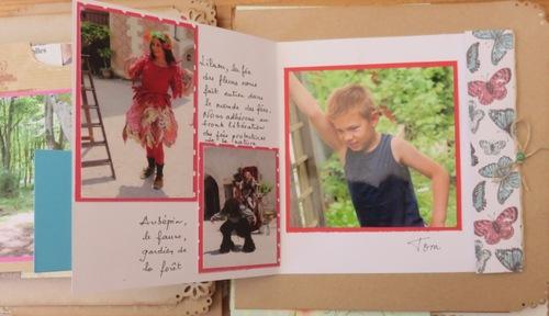 Scrap : album été à Chamerolles