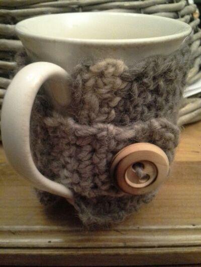 Doudoune pour mug...