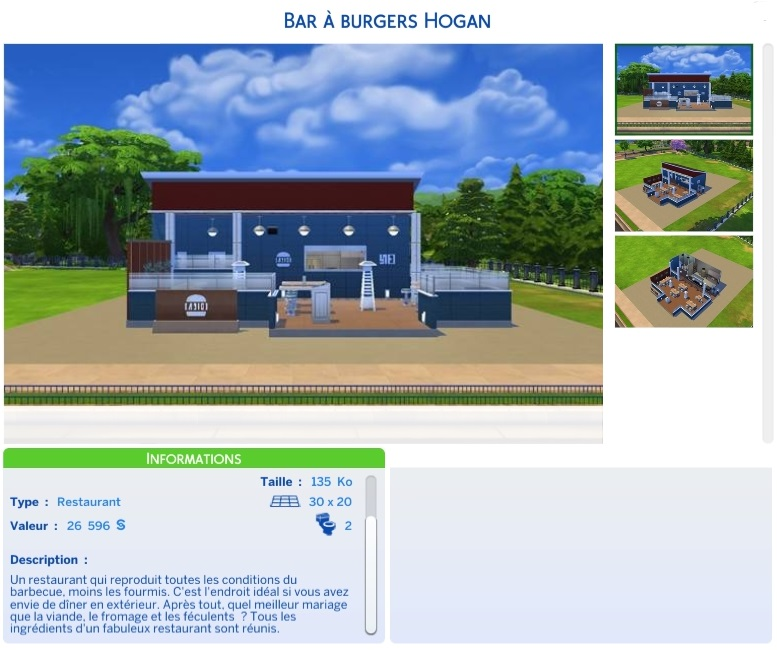 [Restaurant] Bar à burgers Hogan