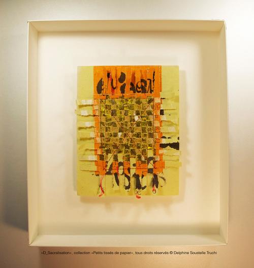 """""""D_Sacralisation"""" Collection Petits tissés © Delphine Soustelle Truchi"""