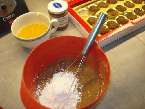 Mini Sat Honorés à la Crème de marrons, Crème de caramel beurre salé et Eclats de marrons glacés