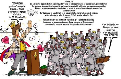 Les charlatans de l'Évangile par JC Guillaume