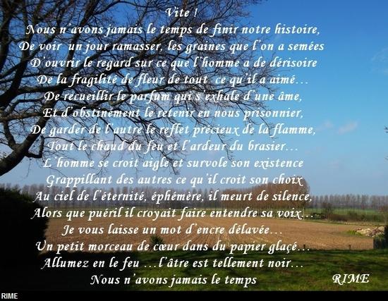 Poèmes De Rime Le Monde De La Philo Et De La Poésie