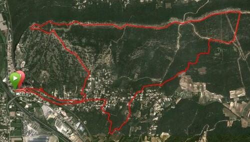 Lou Crestaire 2013 : trail 11km200 sous la pluie !!!