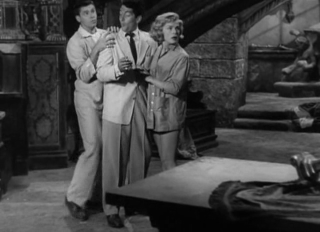 TU TREMBLES CARCASSE - BOX OFFICE JERRY LEWIS 1953