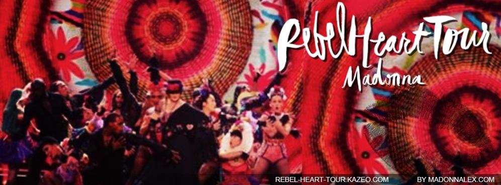 Madonna Rebel Heart Tour Dress You Up